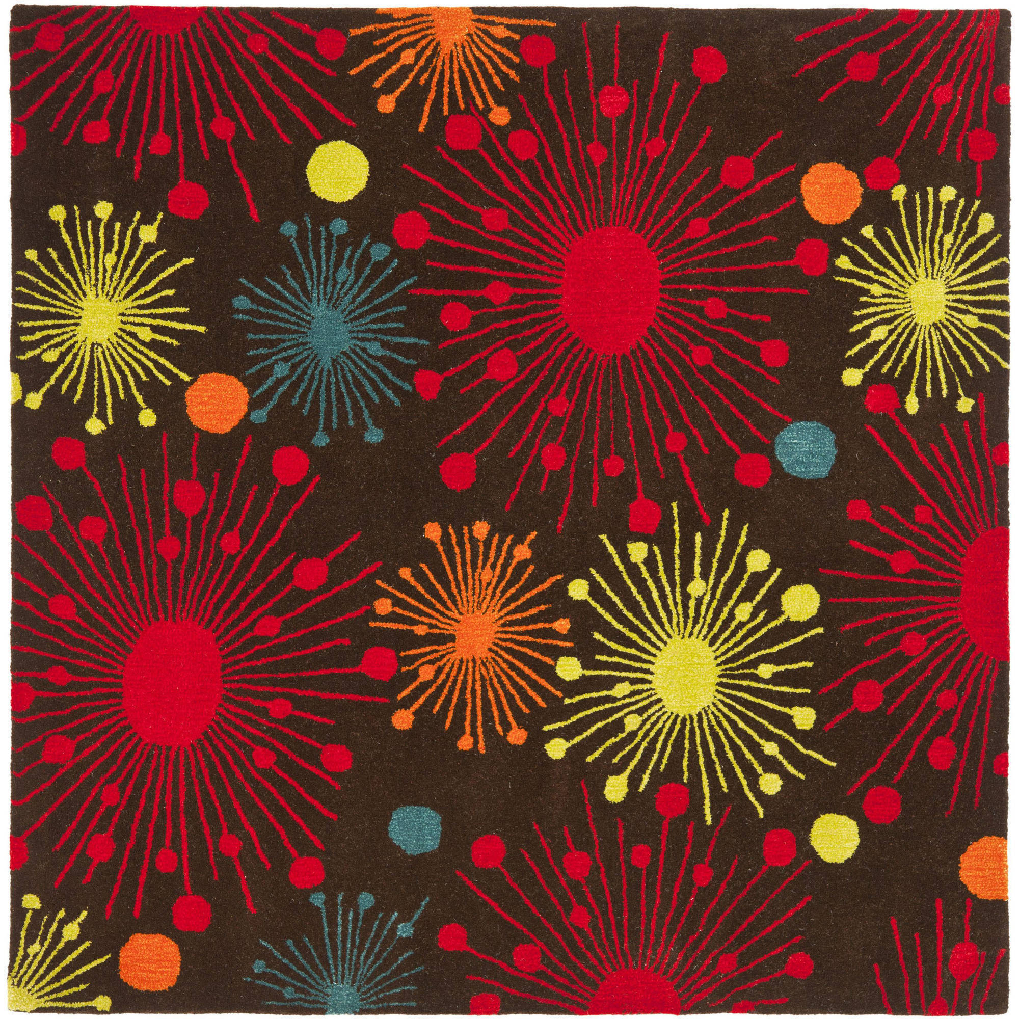 Safavieh Soho Danielle Fire Works Wool Area Rug or Runner