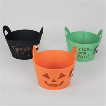 Regent Products G89156 Felt Die-cut Halloween Basket, Pack of 89 (Halloween Baskets For College Students)