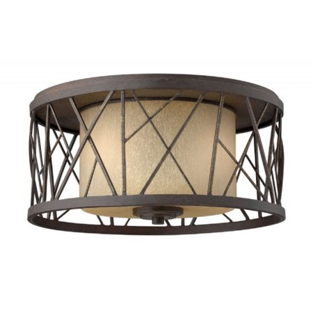 Fredrick Ramond Lighting-FR41611ORB-Nest - Two Light Foyer Flush Mount Barcelona Fredrick Ramond Lighting