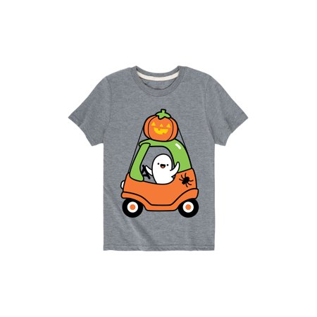 Halloween Toy Car  - Toddler Short Sleeve Tee - Short Halloween Poems For Toddlers