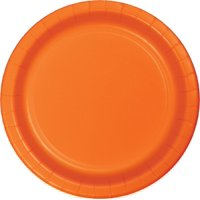 """Touch of Color Banquet Plate, 10"""", Sunkissed Orange, 24 Ct"""