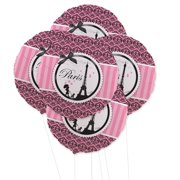 Paris Damask 5pc Foil Balloon Kit