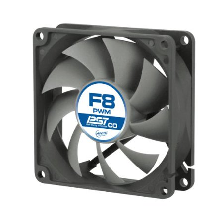 Arctic Cooling F8 PWM CO Continuous Operation 80mm PC Computer Case Fan - NEW