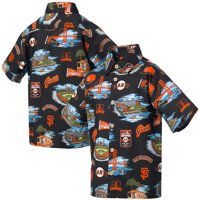 San Francisco Giants Reyn Spooner Youth Scenic Button-Up Shirt - Black
