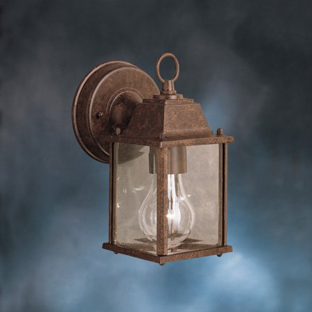Kichler Outdoor Plastic Fixture (Kichler Barrie 9794 Outdoor Wall Lantern - 4.75 in.)