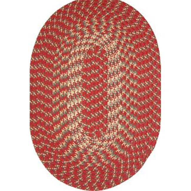 Robin Rug Hometown Braided Rug - Colonial Red