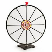 Brybelly GPRZ-004 24'' White Dry Erase Prize Wheel