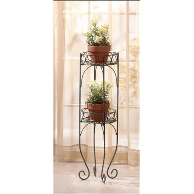 Zingz & Thingz 57070257 Metal Two-Tier Plant Stand - image 1 de 1