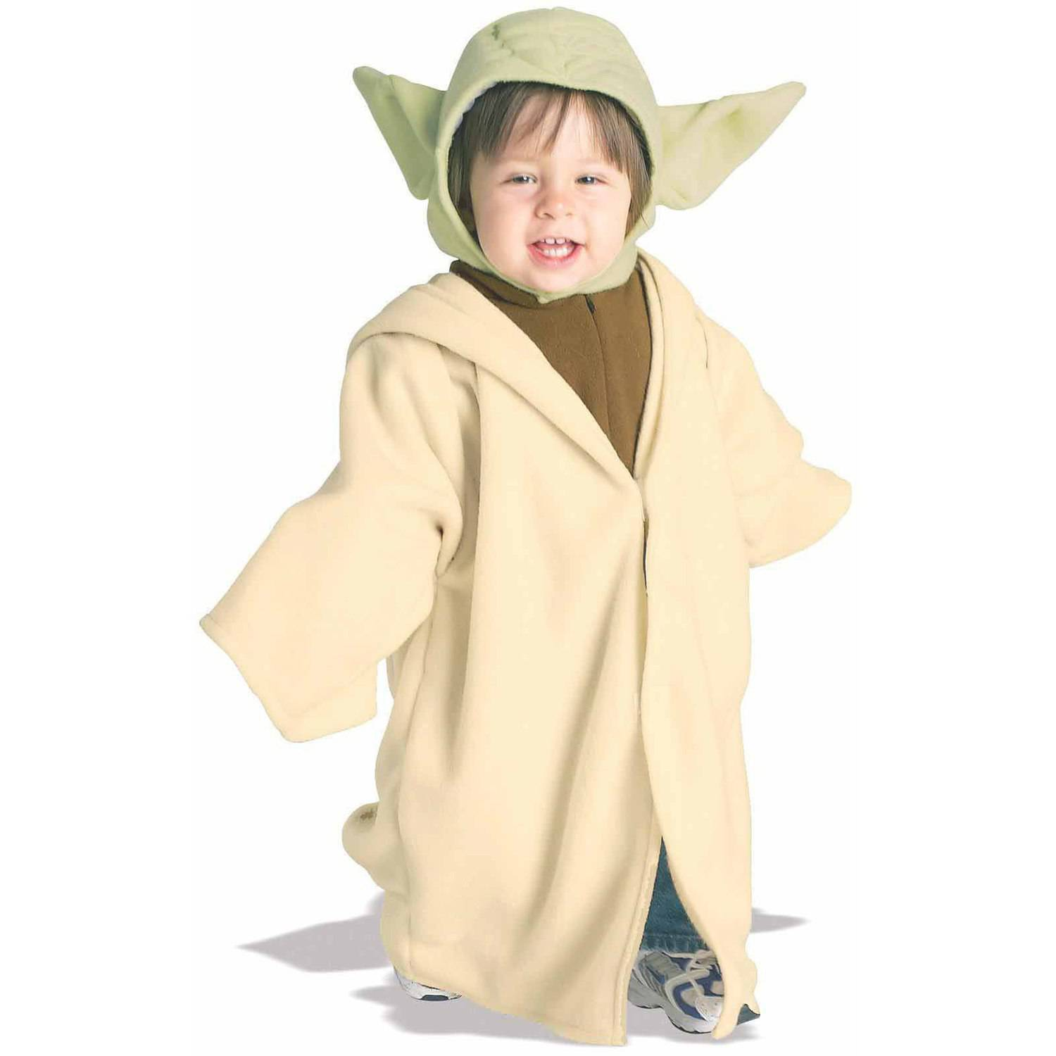 Star Wars Yoda Fleece Toddler Halloween Costume, Size 3T-4T
