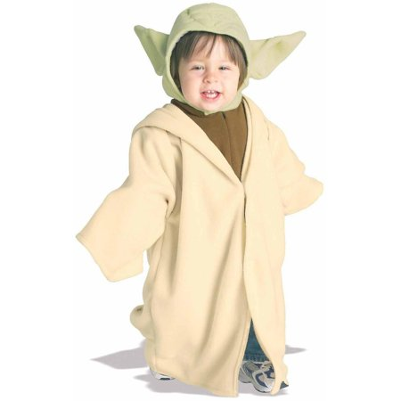 Star Wars Yoda Fleece Toddler Halloween Costume, Size - Used Star Wars Costumes