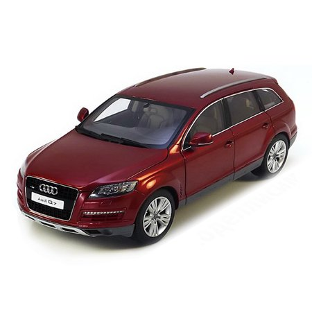 2009 Audi Q7 Garnet Red 1/18 Diecast Model Car by Kyosho