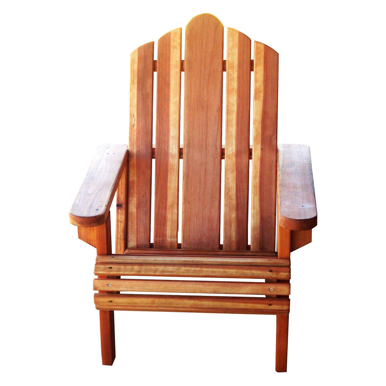 Best Redwood Adirondack Chair Walmart Com