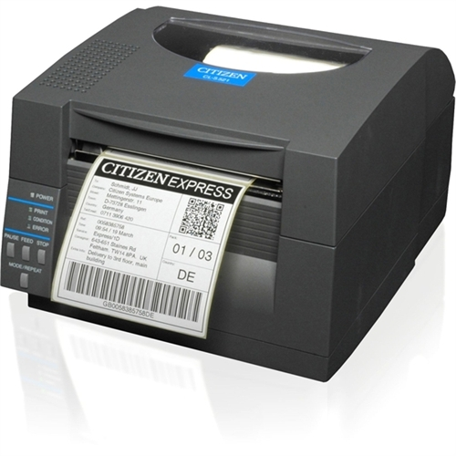 Citizen CL-S521 Direct Thermal Printer - Monochrome - Label Print CL-S521-GRY