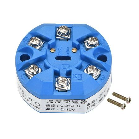 PT100 Temperature Sensor Transmitter 24V DC 0-10V -20鈩?to 80鈩?0.036 - image 1 of 2