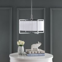Safavieh Milano 3-Light 20 in. Dia. Modern Glam Pendant Light