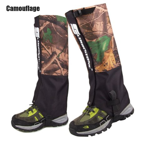 1 Pair Outdoor Camping Hiking Climbing Waterproof Snow Legging Gaiters For Men Women Teekking Skiing Desert Snow Boots Shoes Covers L CAMOUFLAGE thumbnail