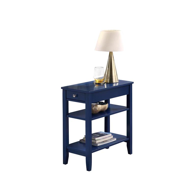 American Heritage End Table: Convenience Concepts American Heritage Three Tier End