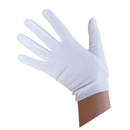 SeasonsTrading Child White Costume Gloves - Kids Halloween - Children's Halloween Music List