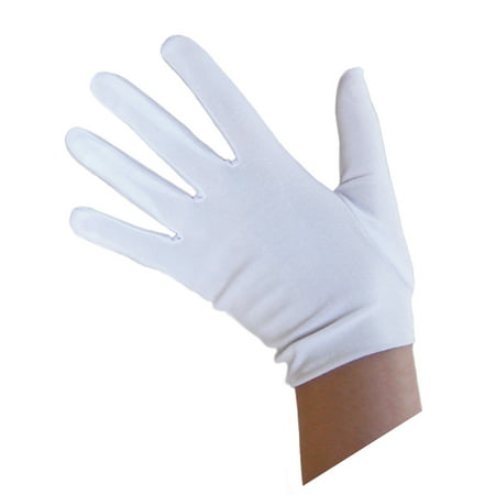 SeasonsTrading Child White Costume Gloves - Kids Halloween Accessory](Halloween Entrees For Kids)