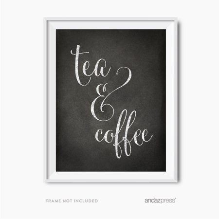 Tea & Coffee Vintage Chalkboard Wedding Party (Vintage Tea Party)
