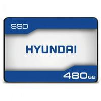 "Hyundai 480GB Internal Solid State Drive 2.5""- SATA(SATA/600) - 500 MB/s"