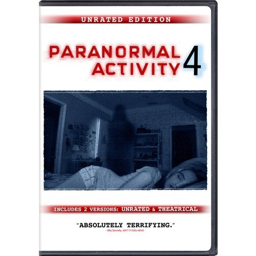 Paranormal Activity 4 (Rated/Unrated) (Walmart Exclusive) (With INSTAWATCH) (Widescreen, WALMART EXCLUSIVE)