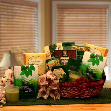 Deeper Than Tears Condolence Gift Basket (Cookie Baskets Sympathy)