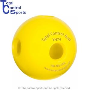 Total Control TCB Hole Ball - 2.9in Baseball - 74 grams - 12 Pack 2.9