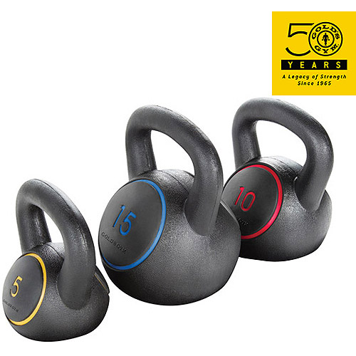 Gold's Gym Kettlebell Kit