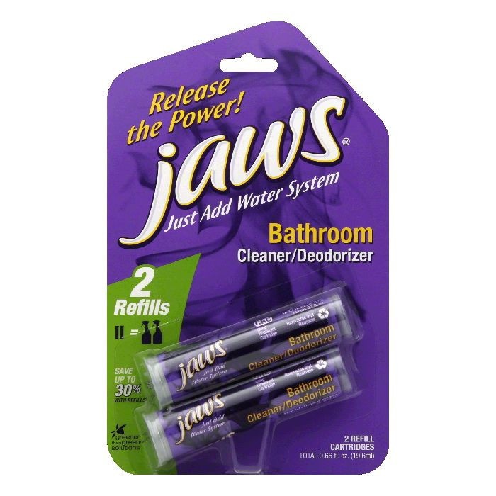 Jaws Cleaner/Deodorizer Refill, Bathroom
