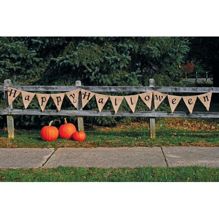 Fun World 9825HH Happy Halloween Banner,12', - Halloween Cream Eggs Uk