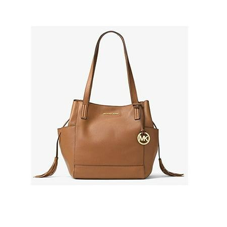 5ff9ad3cfde9 Michael Kors - Michael Kors Ashbury Large Leather Shoulder Bag in Acorn -  Walmart.com
