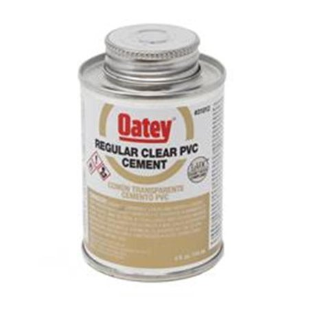 Solvent Cement (Rectorseal 55901 GENE 404L Low VOC PVC Solvent Cement | 1/4 Pint Dauber Top)