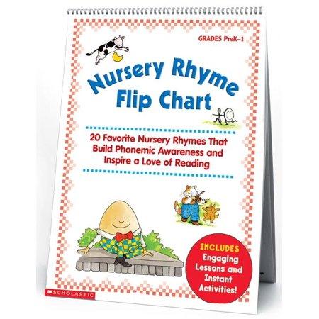 Nursery Rhyme Flip Chart: 20 Favorite Nursery Rhymes That Build Phonemic Awareness and Inspire a Love of Reading (Paperback) Phonemic Awareness Box