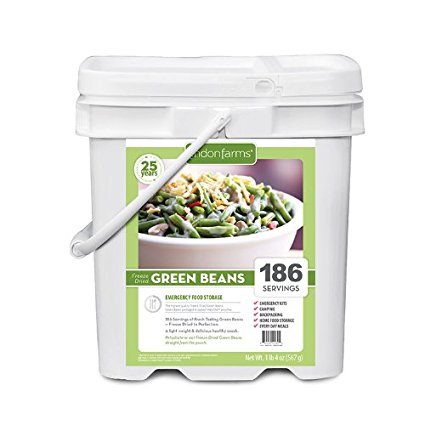 Lindon Farms 186 Servings Freeze Dried Green Beans by Lindon Farms
