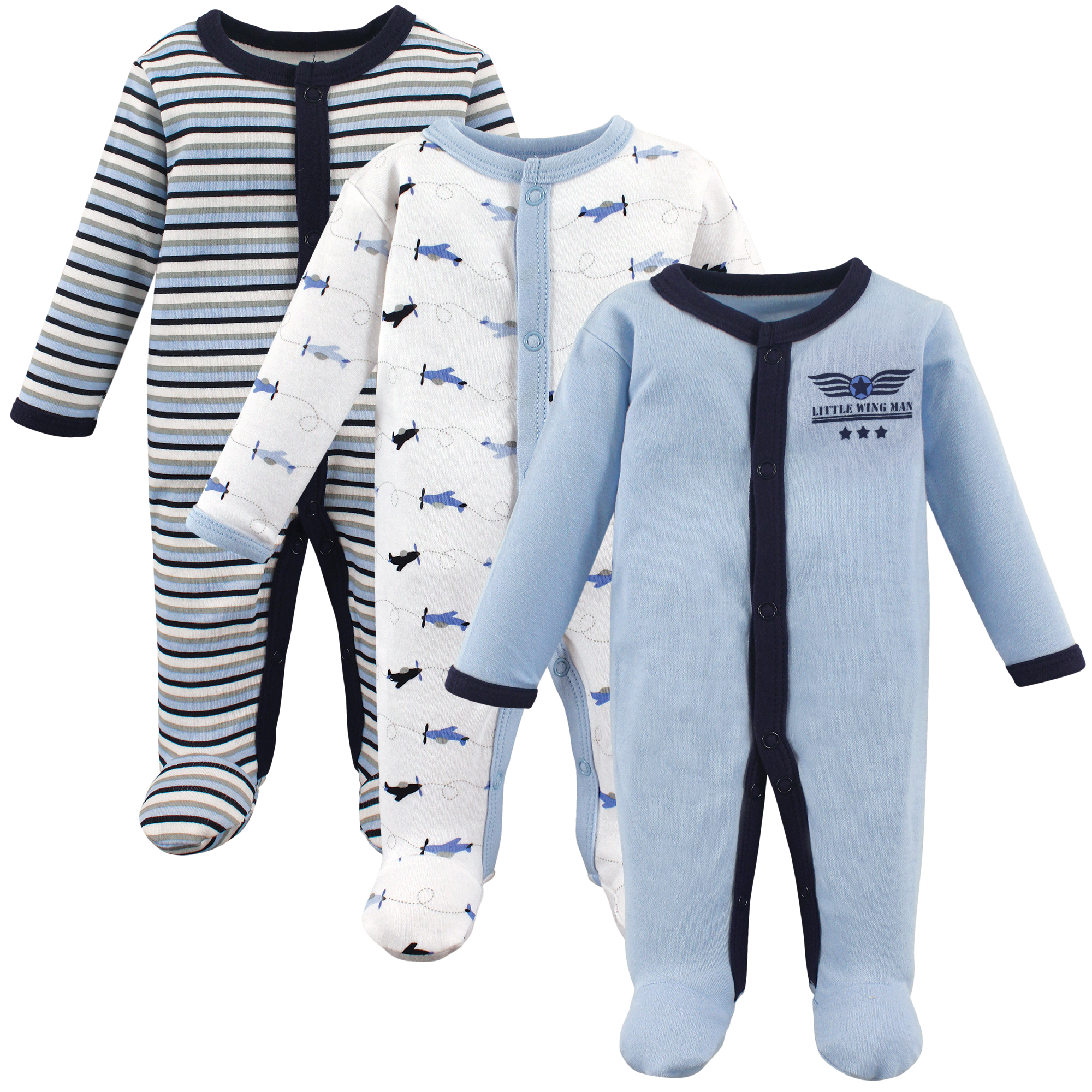 Luvable Friends - Luvable Friends Preemie Baby Boy Sleep ...