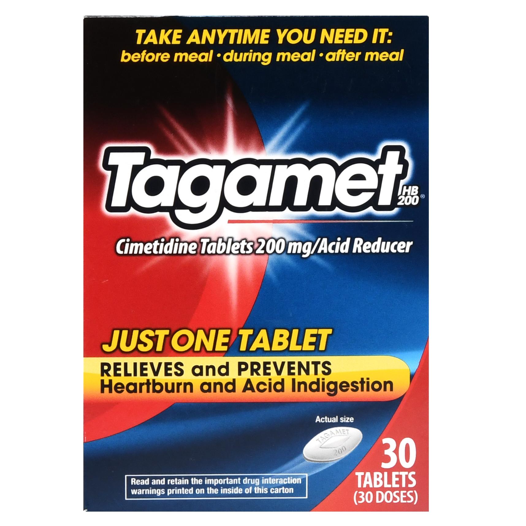 Tagamet HB 200 Acid Reducer Tablets - 30 CT