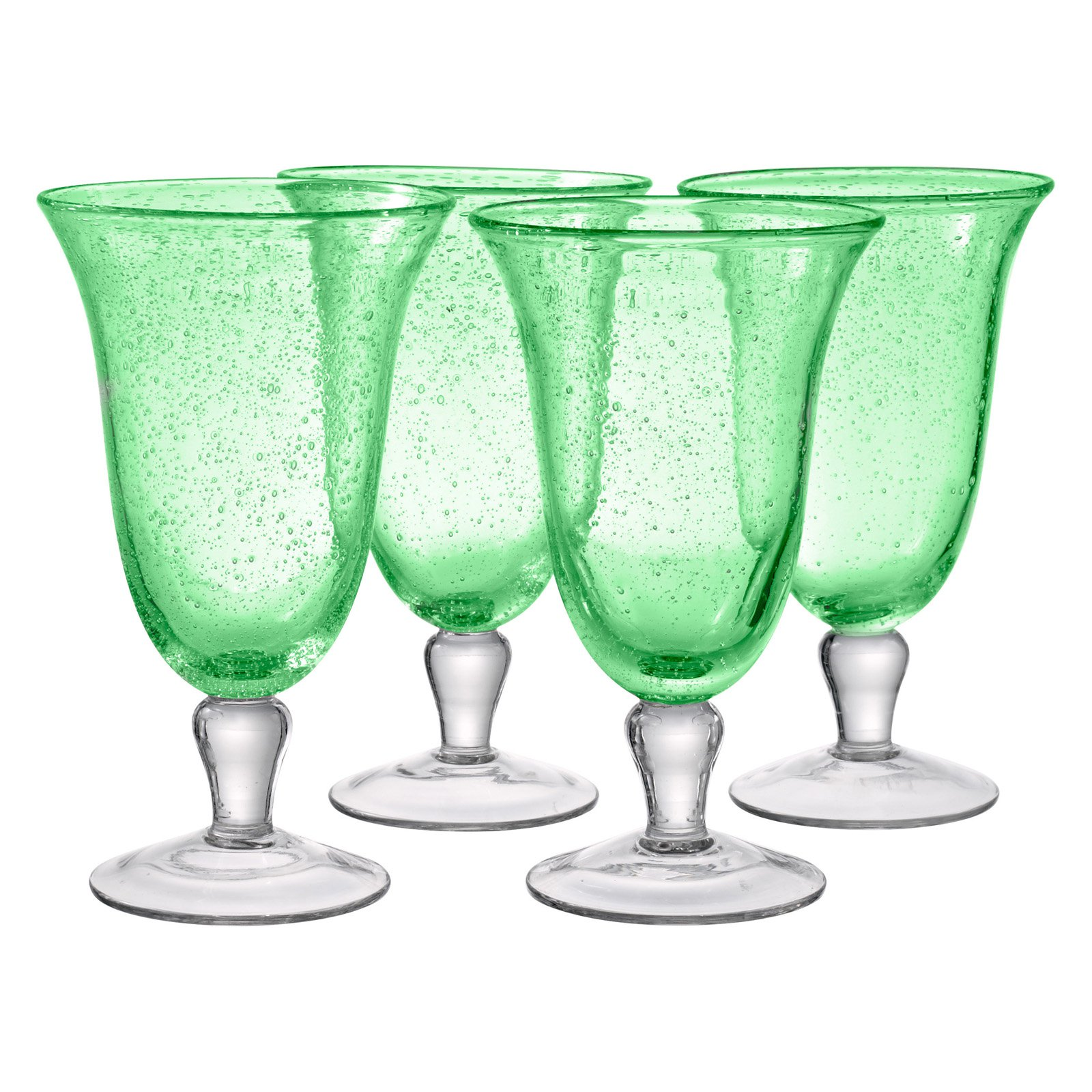 Artland Inc. Iris Light Green Ice Tea Glasses - Set of 4