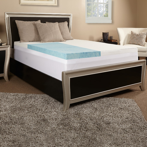 Luxury Solutions Memory Foam Mattress Topper