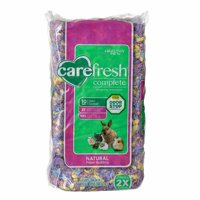 Carefresh Complete Natural Paper Bedding for Small Pets - Confetti and Outstanding odor control lasts 2X as long as wood shavings