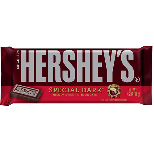 Hershey's Special Dark Chocolate, 6.8 Oz