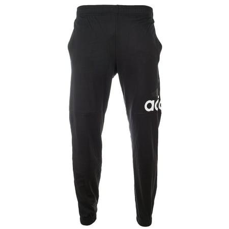 40c5eacb3a501 Adidas Essentials Performance Logo Pants - Black/White - Mens - M -  Walmart.com