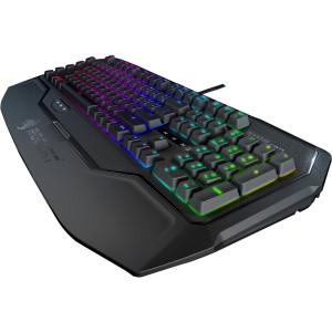 Roccat Ryos MK FX - Mechanical Gaming Keyboard With Per-Key RGB Illumination - Cable Connectivity - USB 2.0 Interface - Compatible with Computer (PC) - Macro, Programmable Hot Key(s) - Mechanical