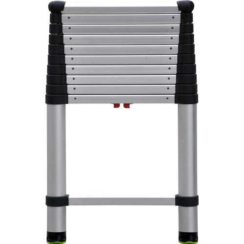 Telesteps 14 ft 10 Step 250 lbs. Rating Aluminum Telescopic Extension Ladder