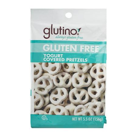 Glutino Gluten Free Yogurt Covered Pretzels, 5.5 OZ