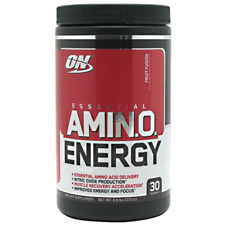 Optimum Nutrition Essential Amino Energy, Fruit Fusion, 30 Servings, 9.5 Ounce