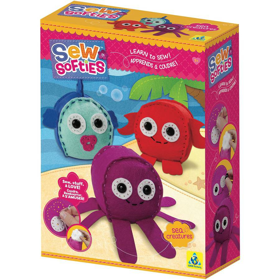 Sew Softies Sea Creatures Kit