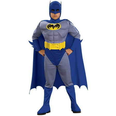 Batman Brave & Bold Deluxe M/C Batman Toddler / Child Costume - Large - Brave And Bold Batman Costume