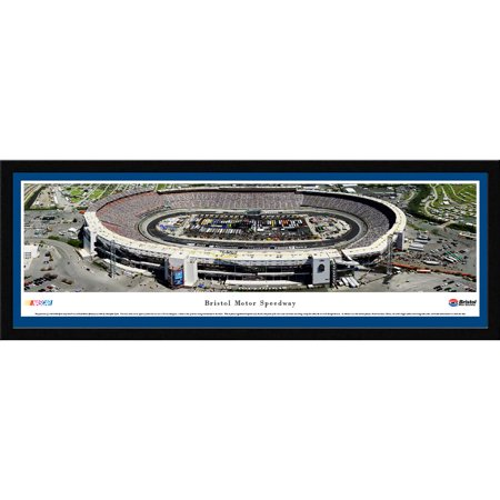Bristol Motor Speedway - Sprint Cup Series - Blakeway Panoramas NASCAR Print with Select Frame and Single Mat