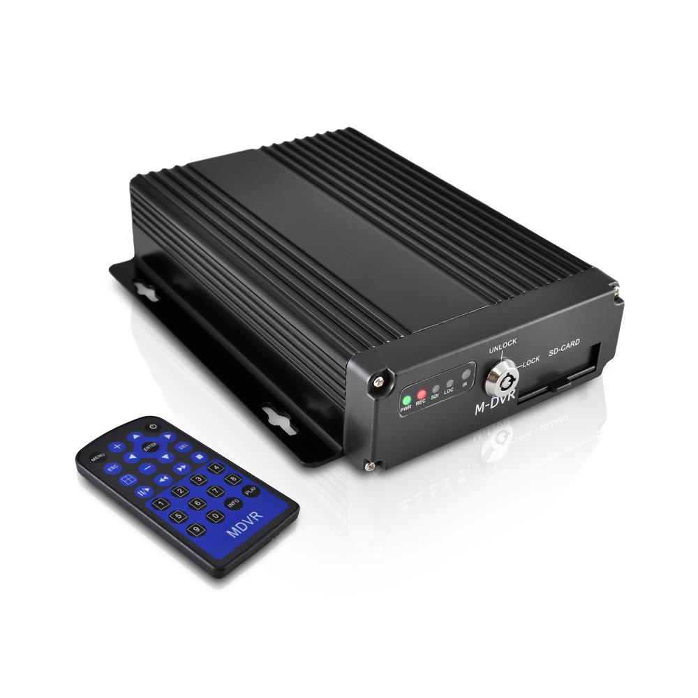 PYLE PLCMDVR15 - Car DVR Mobile Video - Audio Recorder Surveillance System Rearview, Backup and Dash Camera with HD 4 Channel and 12V-24V Input for Trucks, Trailers, Vans, Buses and Vehicles